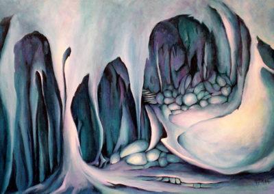 Cave Walk 60 x 90cm