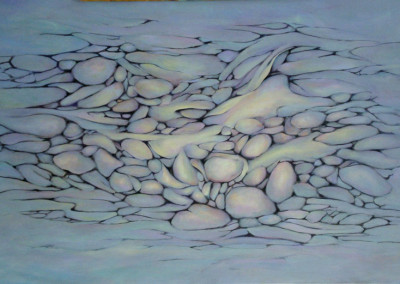 Creek Bed No 1 - 90 x 60cm