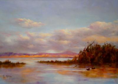 Lake Wendouree Ballarat 60 x 40cm